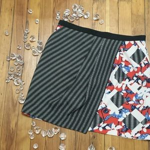 || Peter Pilotto || Wrap Skirt with Pockets